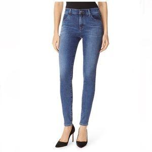 J Brand Maria High Rise Skinny Jeans in Dynamic 25